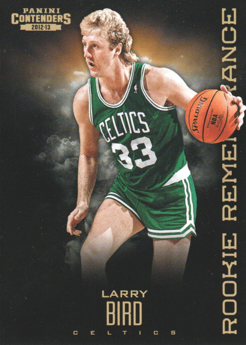 2012-13 Panini Contenders Rookie Remembrance #26 Larry Bird