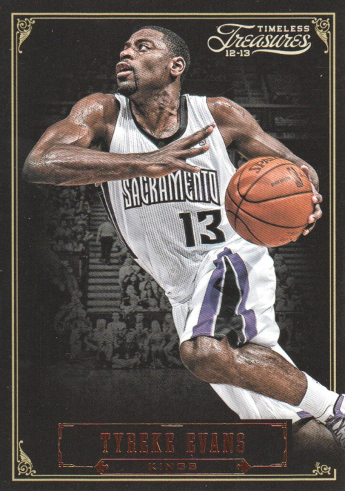 2012-13 Timeless Treasures #4 Tyreke Evans