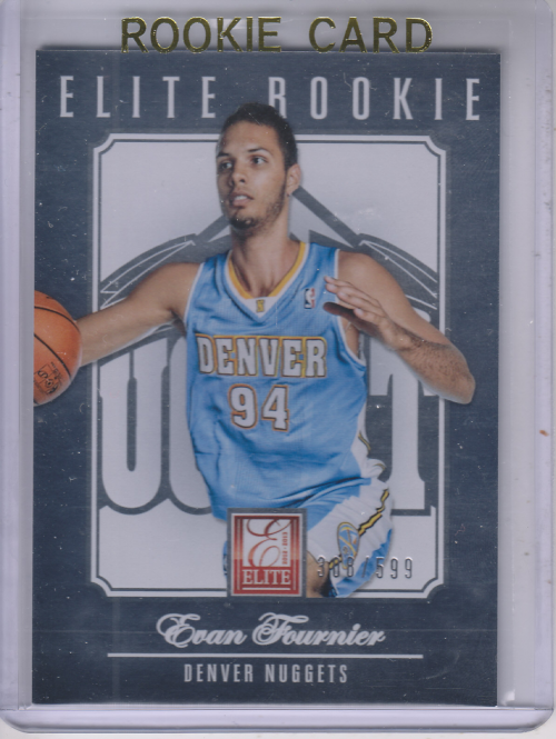 2012-13 Elite #271 Evan Fournier RC