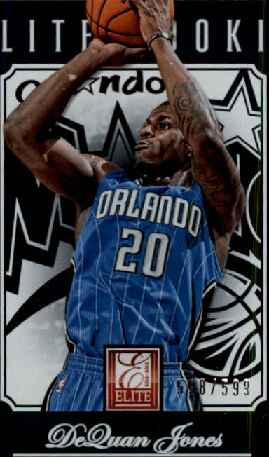 2012-13 Elite #298 DeQuan Jones RC