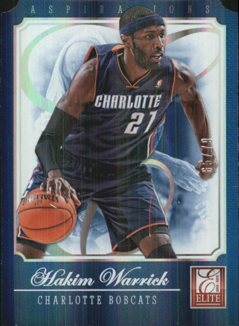 2012-13 Elite Aspirations #59 Hakim Warrick/79
