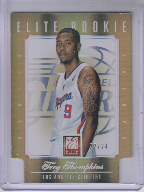 2012-13 Elite Status Gold #233 Trey Thompkins