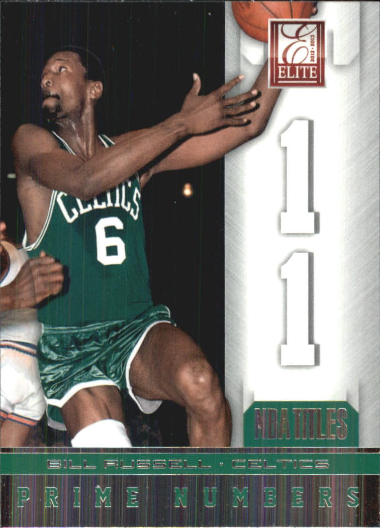 2012-13 Elite Prime Numbers #15 Bill Russell