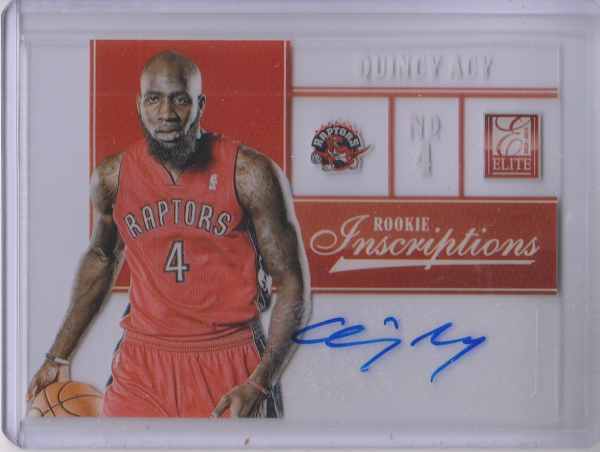 2012-13 Elite Rookie Inscriptions #15 Quincy Acy