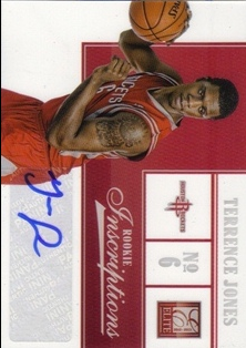 2012-13 Elite Rookie Inscriptions #74 Terrence Jones