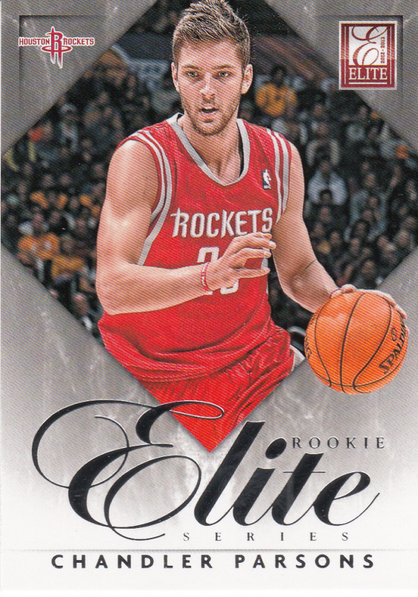 2012-13 Elite Rookie Elite Series #13 Chandler Parsons