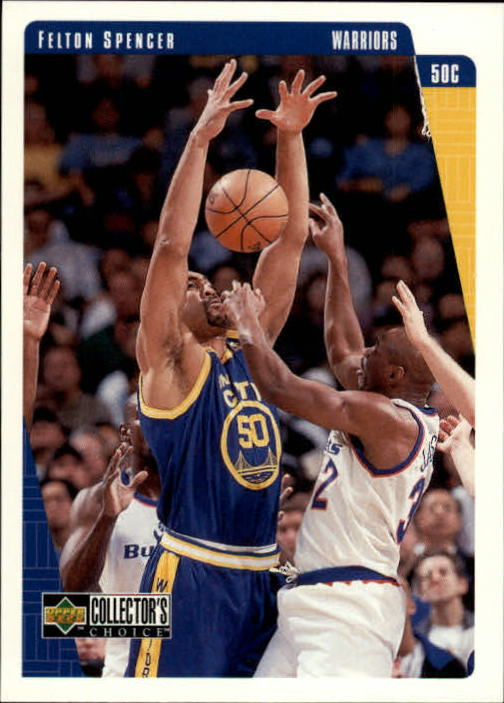 1997-98 Collector's Choice International European #48 Felton Spencer