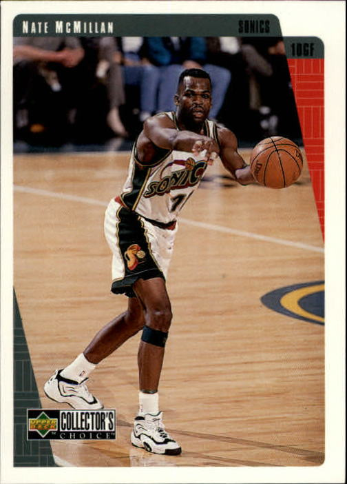 1997-98 Collector's Choice International European #132 Nate McMillan