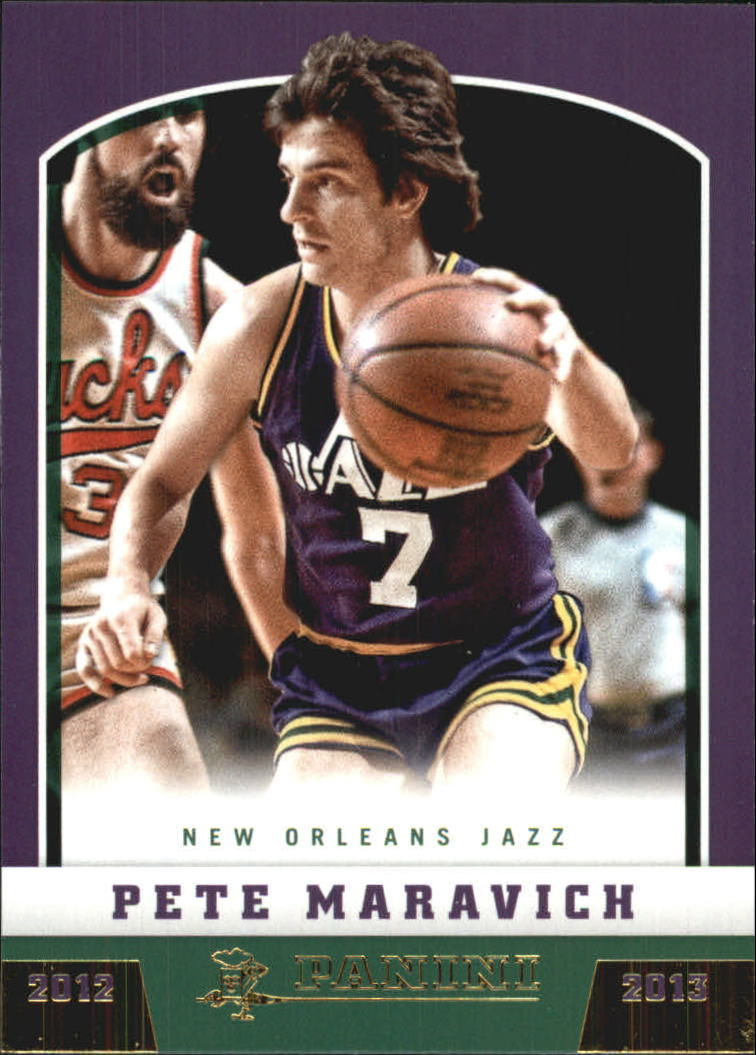 2012-13 Panini Gold Knight #194 Pete Maravich