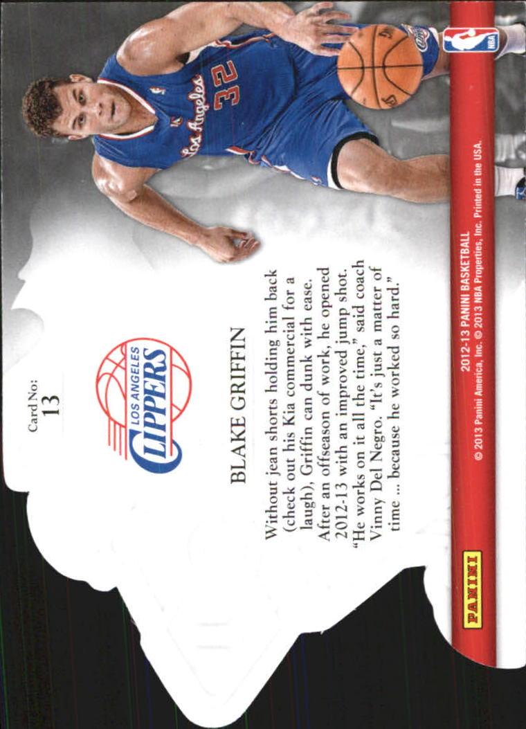 2012-13 Panini Knights of the Round #13 Blake Griffin