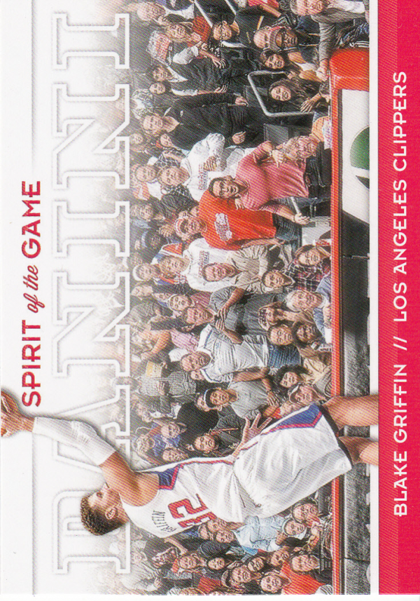 2012-13 Panini Spirit of the Game #13 Blake Griffin