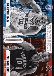 2012-13 Panini Matching Numbers #3 Eric Gordon/DeMar DeRozan