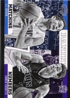 2012-13 Panini Matching Numbers #22 J.J. Redick/Jimmer Fredette