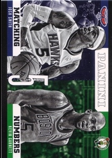 2012-13 Panini Matching Numbers #24 Josh Smith/Kevin Garnett