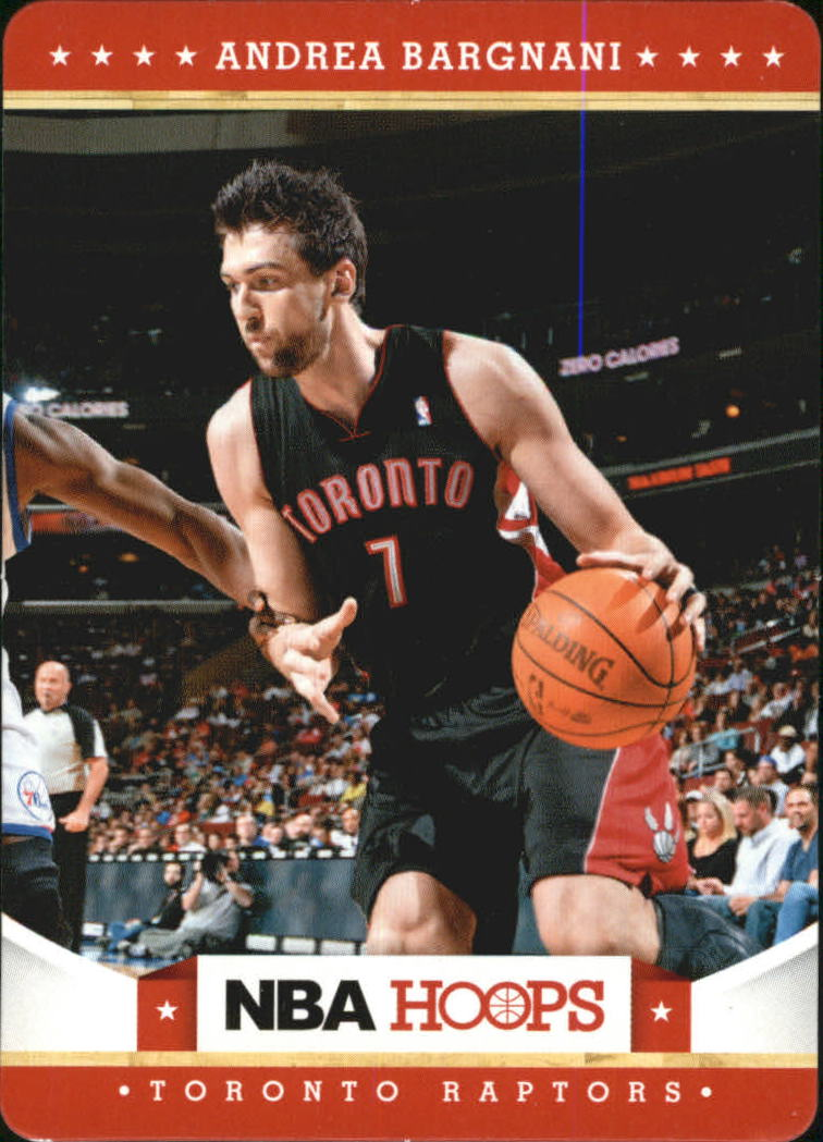 2012-13 Hoops Taco Bell #21 Andrea Bargnani