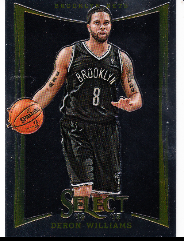 2012-13 Select #6 Deron Williams