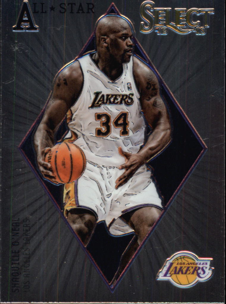 2012-13 Select All-Star Selections #12 Shaquille O'Neal