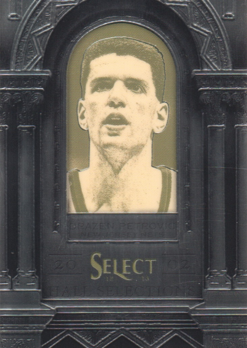 2012-13 Select Hall Selections #24 Drazen Petrovic