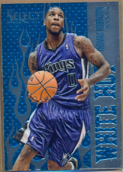 2012-13 Select White Hot Rookies #5 Thomas Robinson