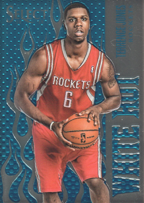 2012-13 Select White Hot Rookies #28 Terrence Jones