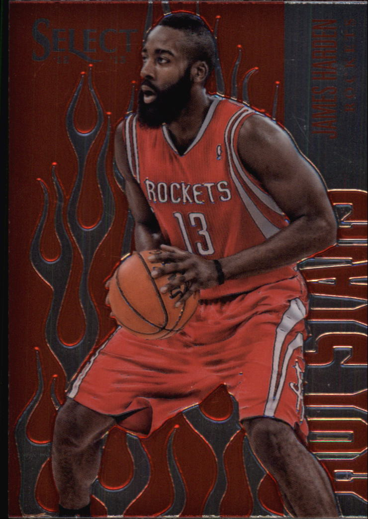 2012-13 Select White Hot  Stars Prizms #12 James Harden
