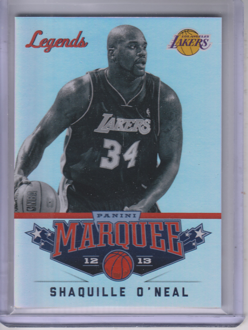 2012-13 Panini Marquee #120 Shaquille O'Neal