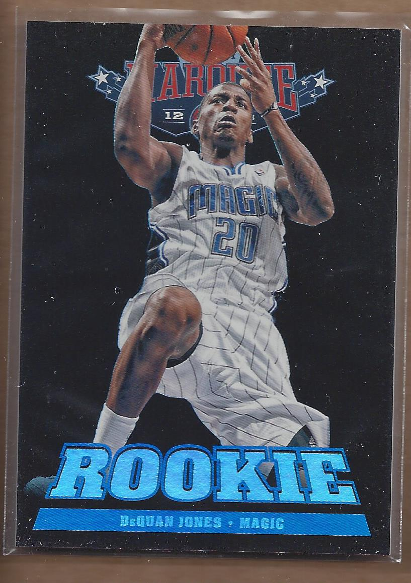 2012-13 Panini Marquee #294 DeQuan Jones RC