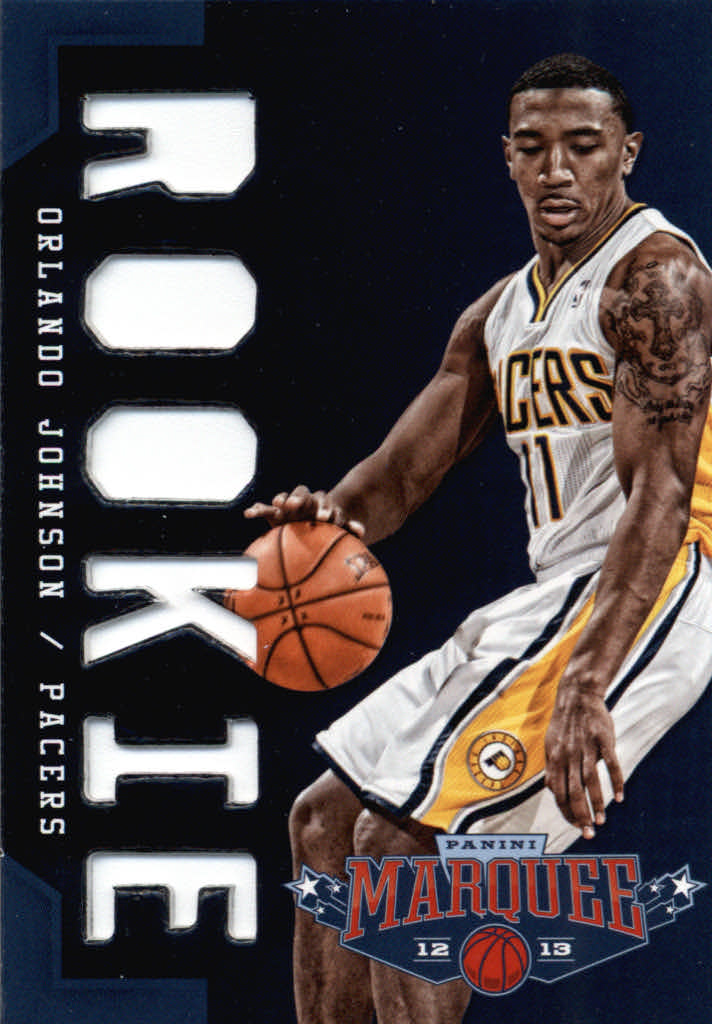 2012-13 Panini Marquee #390 Orlando Johnson RC