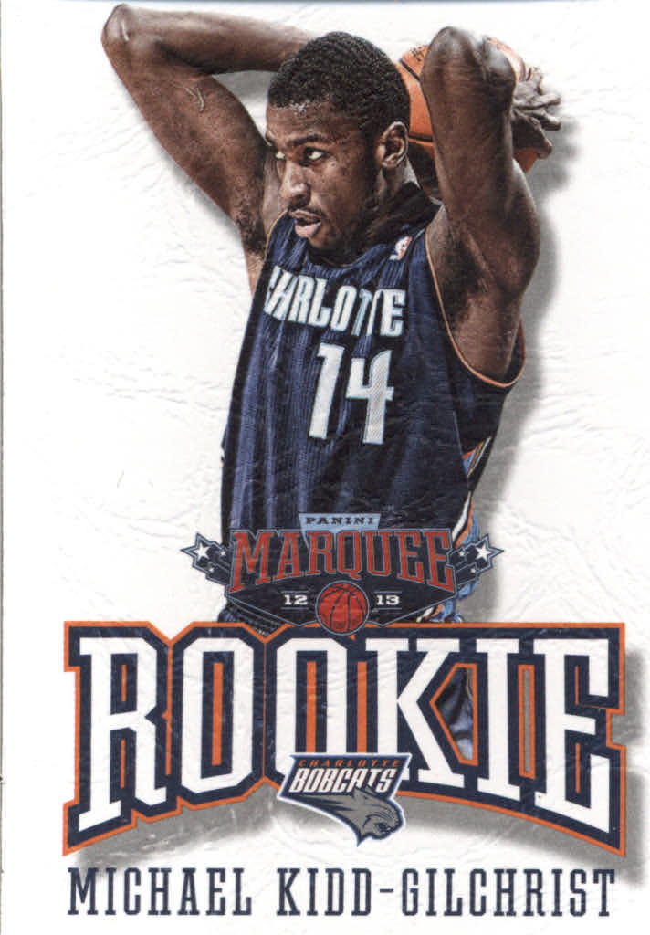 2012-13 Panini Marquee #395 Michael Kidd-Gilchrist RC