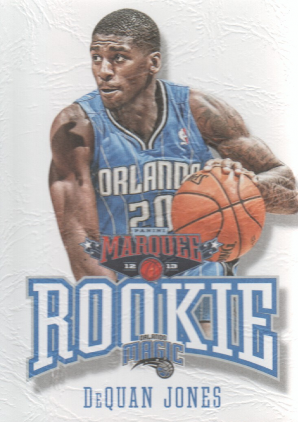 2012-13 Panini Marquee #454 DeQuan Jones RC