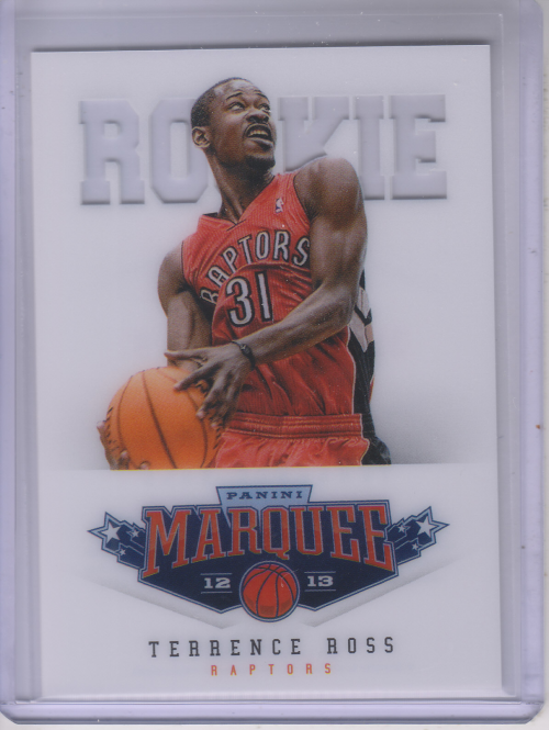 2012-13 Panini Marquee #488 Terrence Ross RC