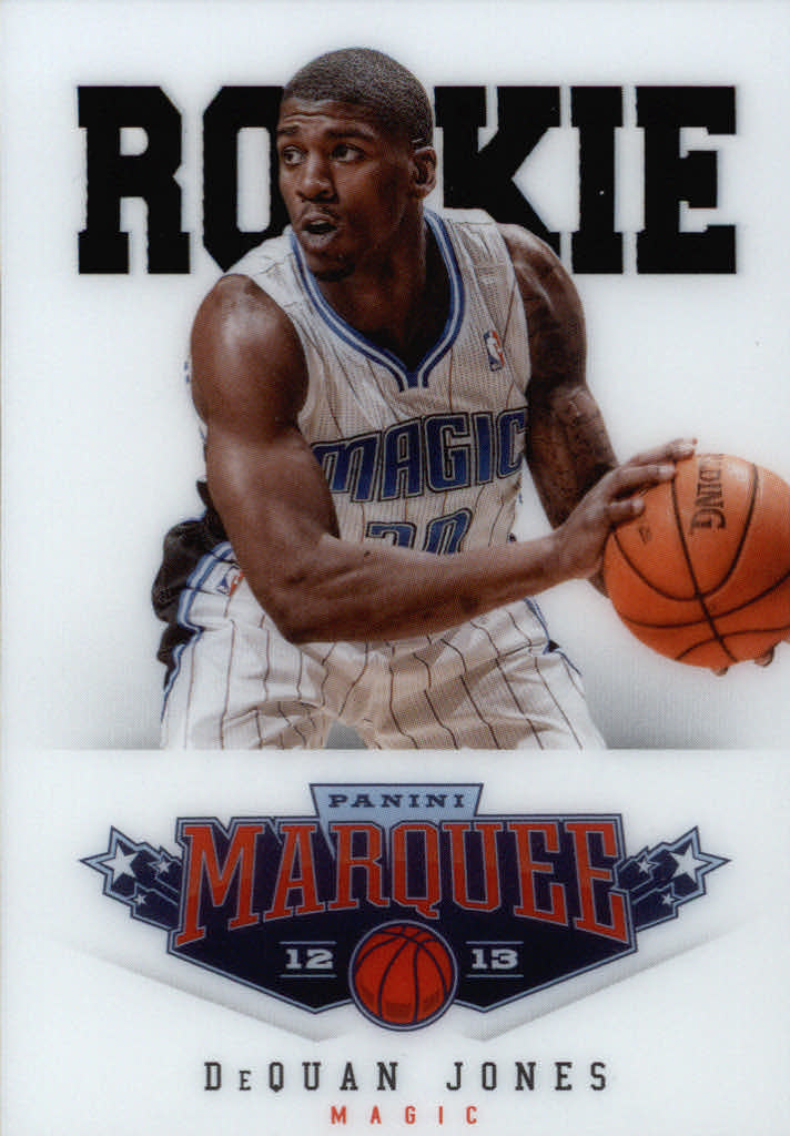 2012-13 Panini Marquee #524 DeQuan Jones RC