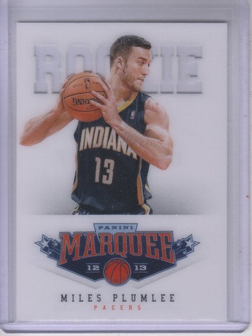 2012-13 Panini Marquee #539 Miles Plumlee RC