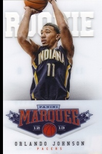 2012-13 Panini Marquee #540 Orlando Johnson RC