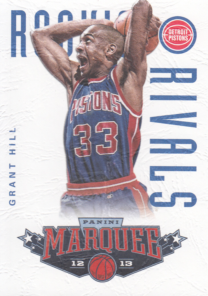 2012-13 Panini Marquee Rookie Rivals Leather #1 Grant Hill/Jason Kidd