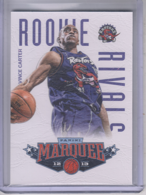 2012-13 Panini Marquee Rookie Rivals Leather #6 Vince Carter/Paul Pierce