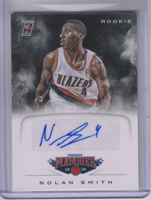 2012-13 Panini Marquee Rookie Signatures #74 Nolan Smith