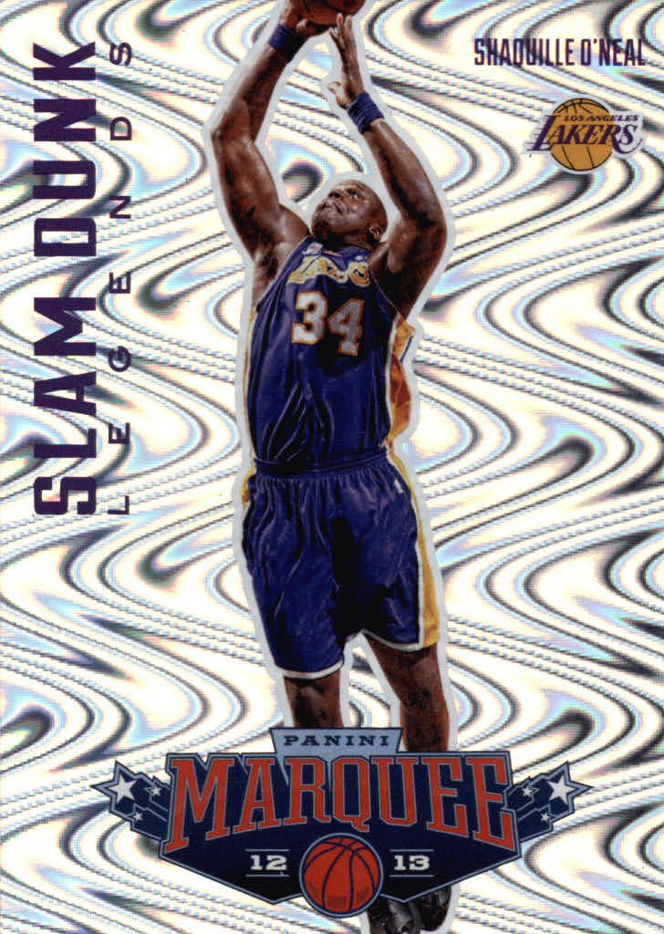 2012-13 Panini Marquee Slam Dunk Legends #10 Shaquille O'Neal