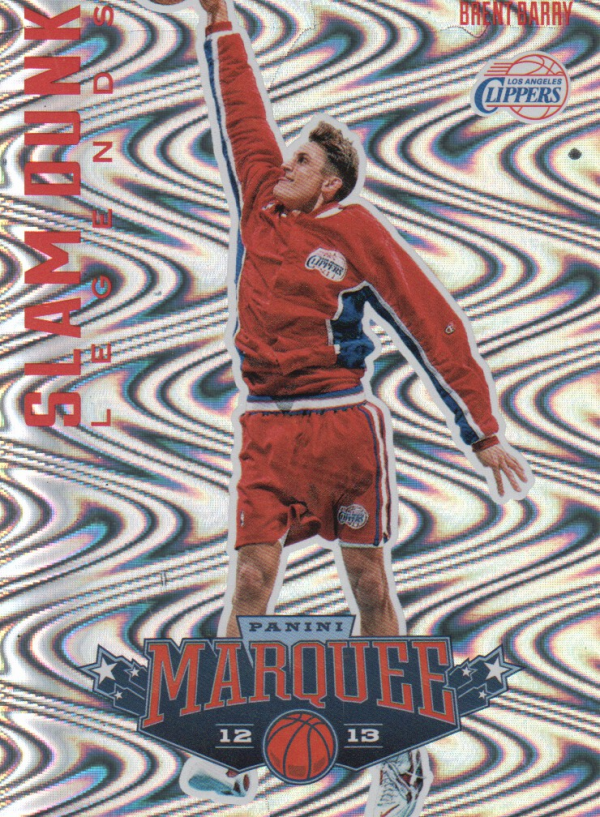 2012-13 Panini Marquee Slam Dunk Legends #17 Brent Barry