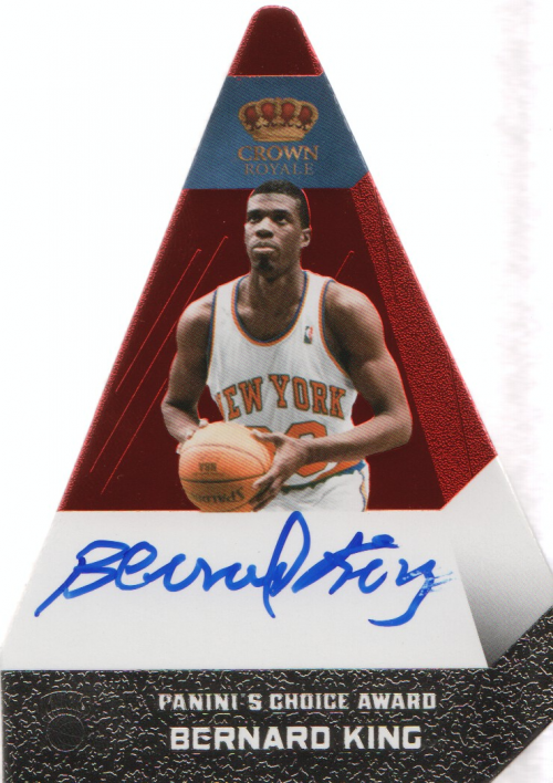 2012-13 Panini Preferred #7 Bernard King PC AU/74