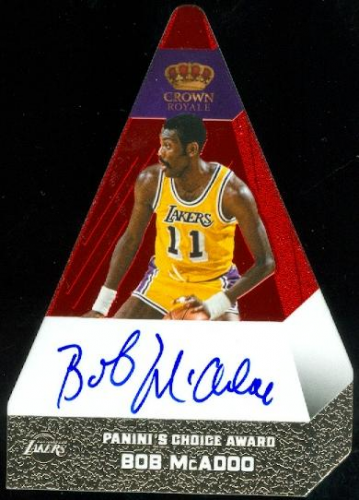 2012-13 Panini Preferred #14 Bob McAdoo PC AU/74