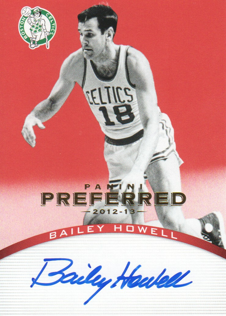 2012-13 Panini Preferred #108 Bailey Howell PS AU/74