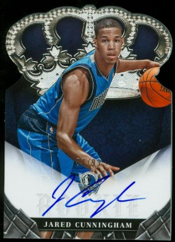 2012-13 Panini Preferred #395 Jared Cunningham CR AU/99