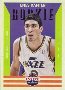 2012-13 Panini Past and Present #168 Enes Kanter RC