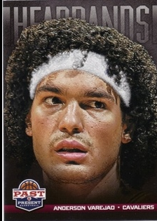 2012-13 Panini Past and Present Headbands #9 Anderson Varejao