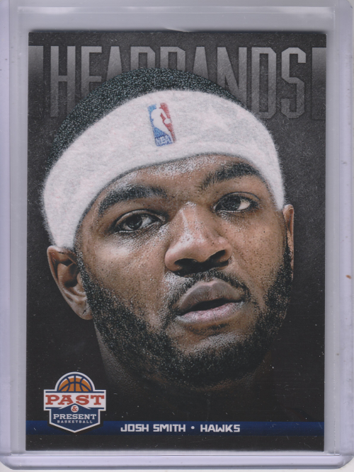 2012-13 Panini Past and Present Headbands #10 Josh Smith