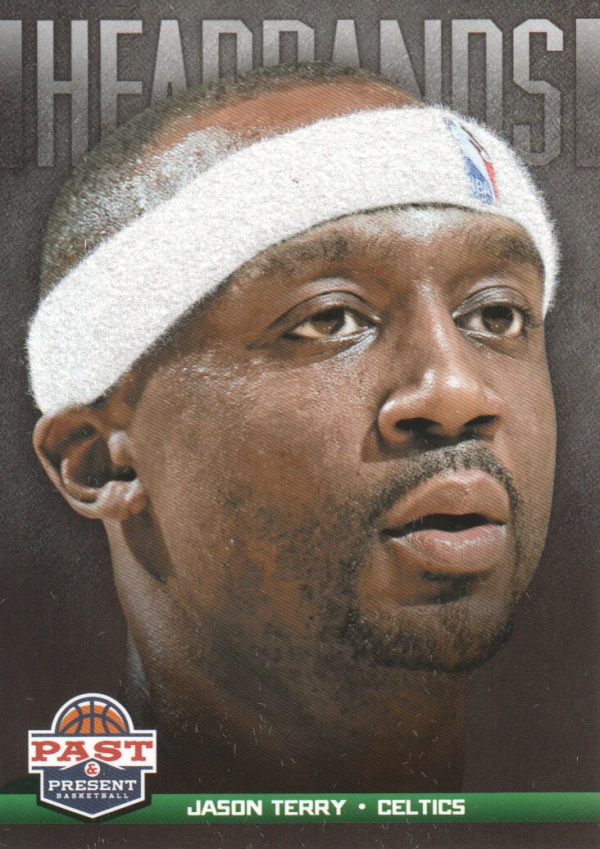 2012-13 Panini Past and Present Headbands #18 Jason Terry