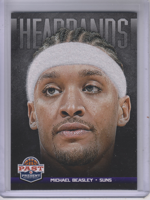 2012-13 Panini Past and Present Headbands #22 Michael Beasley