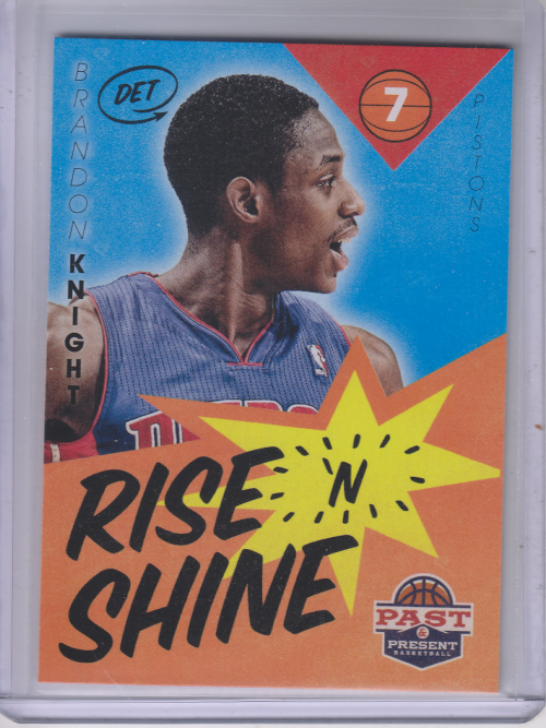 2012-13 Panini Past and Present Rise N Shine #28 Brandon Knight