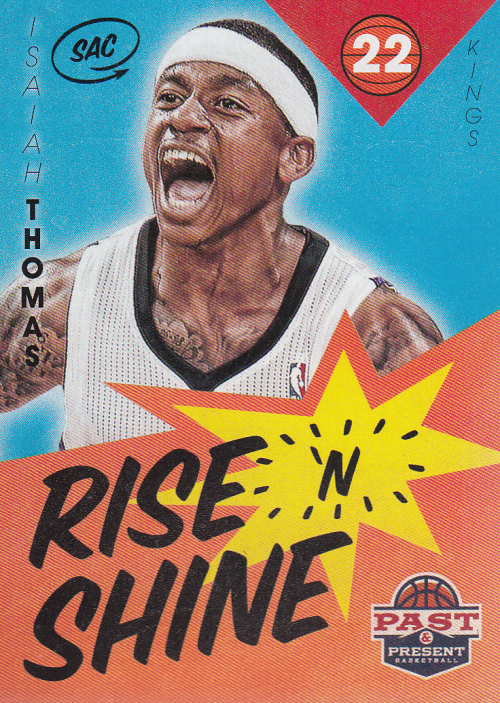 2012-13 Panini Past and Present Rise N Shine #40 Isaiah Thomas